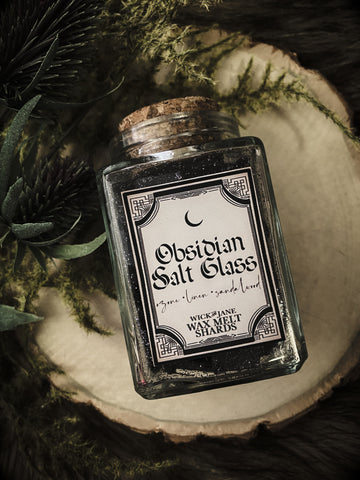 Obsidian Salt Glass - Wax Melt Shards