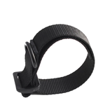 Buttstock rifle sling adapter