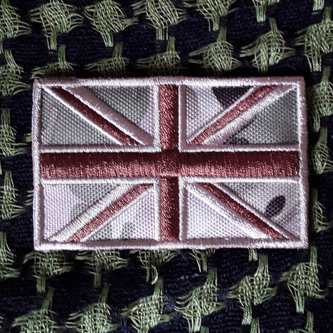 Embroidered UK Flag Patch