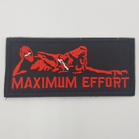 Deadpool Maximum Effort Morale Patch