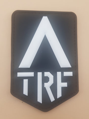 Transformers TRF (White) PVC Morale patch