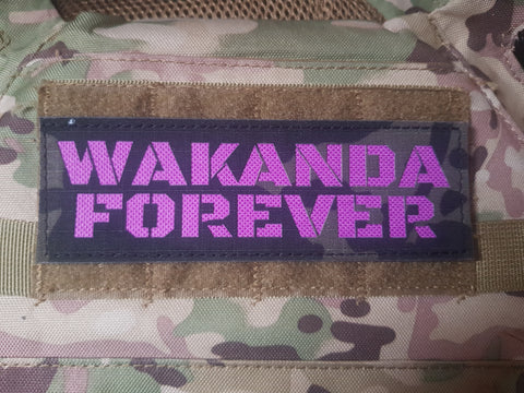 Wakanda Forever Insignia Morale Patch