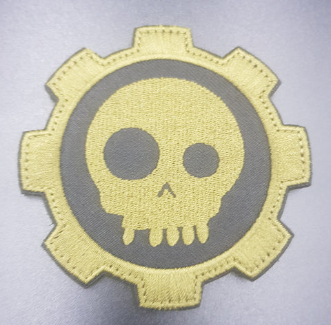 TAD eye Gear skull embroidered Morale patch