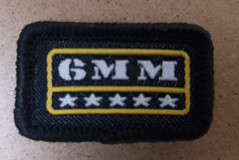 Woven 6mm Patch