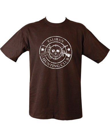 Taliban Hunting Club T-shirt - Black