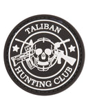 Taliban Hunter velcro backed PVC morale patch