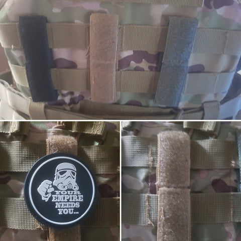 Hook and Loop Velcro Molle bridge