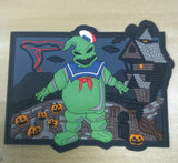 The Real Nightmare Before Christmas - Full Set - 3 Limited edition patches, logo patch and pin