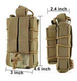 Stackable M4 and 9mm Pistol Pouch