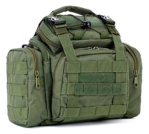 Tactical Pistol Range ready bag with shoulder sling