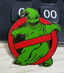 No Ghosts Pin Badge