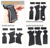 Adhesive grips for glock 17
