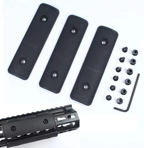 Rail cover set