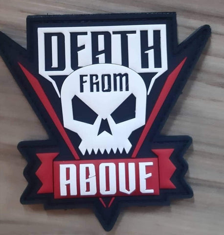 Death from above PVC morale patch