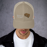 AOB Whats in the Box Trucker Cap