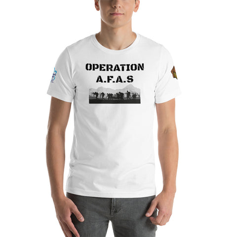 Operation A.F.A.S Alzheimers society Fundraising Tshirt