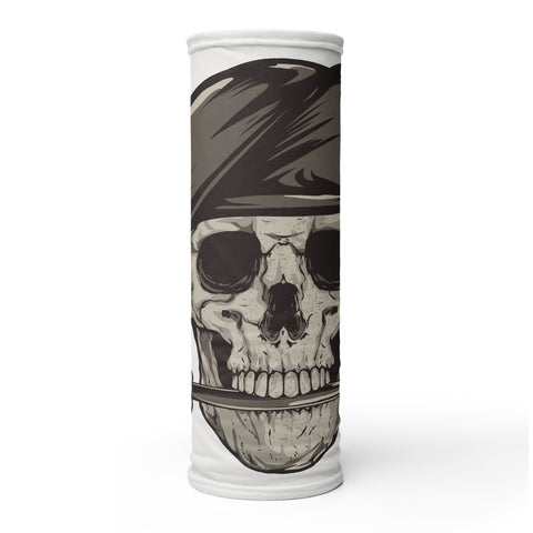 Skull Biting Knife Neck Gaiter/Tube Bandana