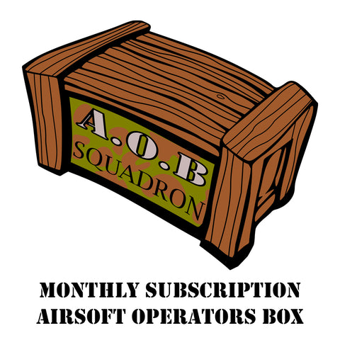AOB Logo, Airsoft Operators Box Subscr