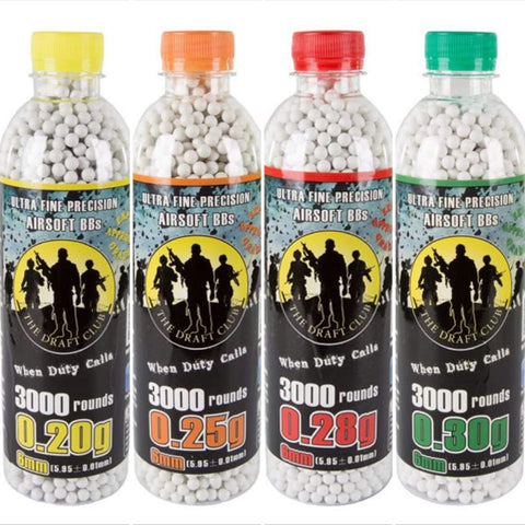 The Draft Club 6mm Airsoft BBs