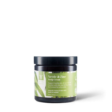 Yin Yang Natural Skincare Nettle and Zinc Scalp Cream for psoriasis and eczema