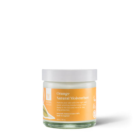 Yin Yang Natural Skincare Orange Natural Face Moisturiser