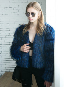 Trina Faux Fur Coat