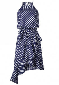 Clodagh Dress Navy Blue
