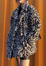 Load image into Gallery viewer, Gracie Leopard Print Faux Fur