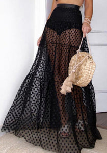 Elan Skirt Black