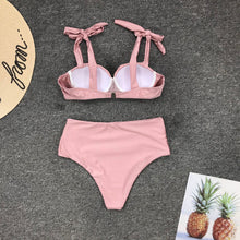 Load image into Gallery viewer, Bikini Two Piece Set Dust Pink  - Lolo