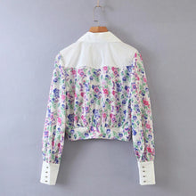 Load image into Gallery viewer, Floral Summer Print Blouse - Ali Blouse