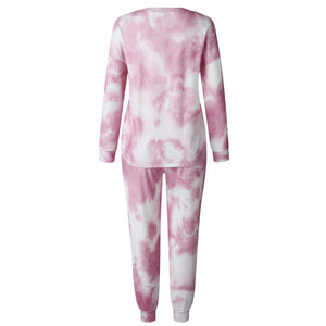 Tie Dye Loungewear Set - Jumper & Joggers Set
