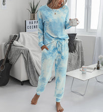Load image into Gallery viewer, Tie Dye Loungewear Set - Jumper & Joggers Set
