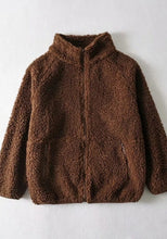 Load image into Gallery viewer, Teddy Fleece Zip Cardigan - Nicky