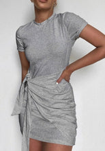 Load image into Gallery viewer, T-Shirt Dress - Stacey Cotten Casual Dress