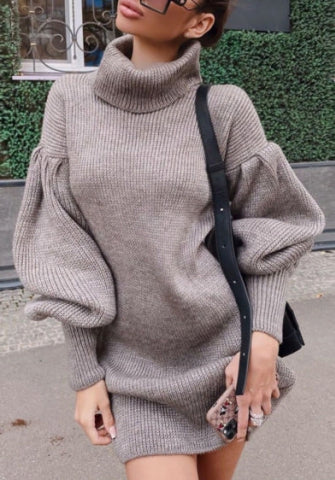 Oversized Jumper Dress - Sallie
