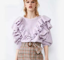 Load image into Gallery viewer, Lilac Angelica Jumper Knit
