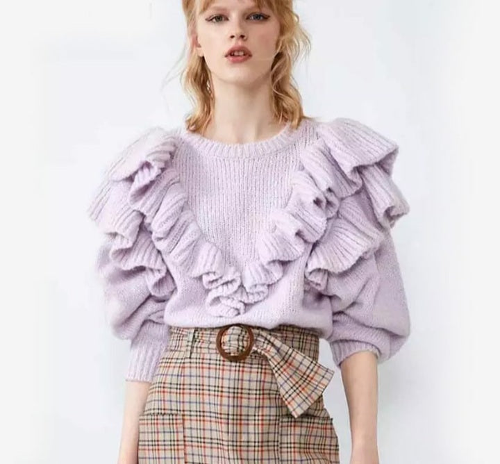Lilac Angelica Jumper Knit