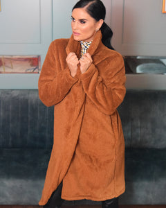 Izzy Teddy 3/4 Lenght Coat