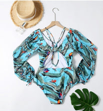 Load image into Gallery viewer, Evana One Piece Print Swimwear