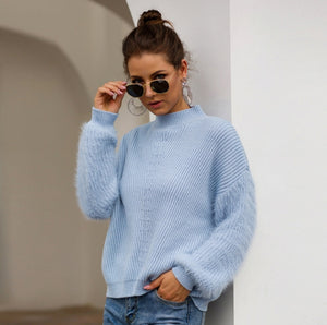 Blue Cosy Jumper