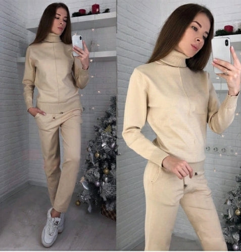 Two Piece Tracksuit Set