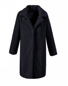 Black Terrie Teddy Coat