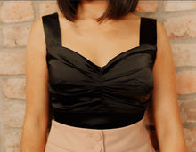 Load image into Gallery viewer, Satin Crop Top - Julia