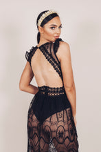 Load image into Gallery viewer, Sazzy Dress Black Lace