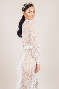 Gabi Transparent Lace Jumpsuit