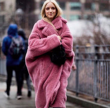 Load image into Gallery viewer, Tillie Pink  Teddy Coat