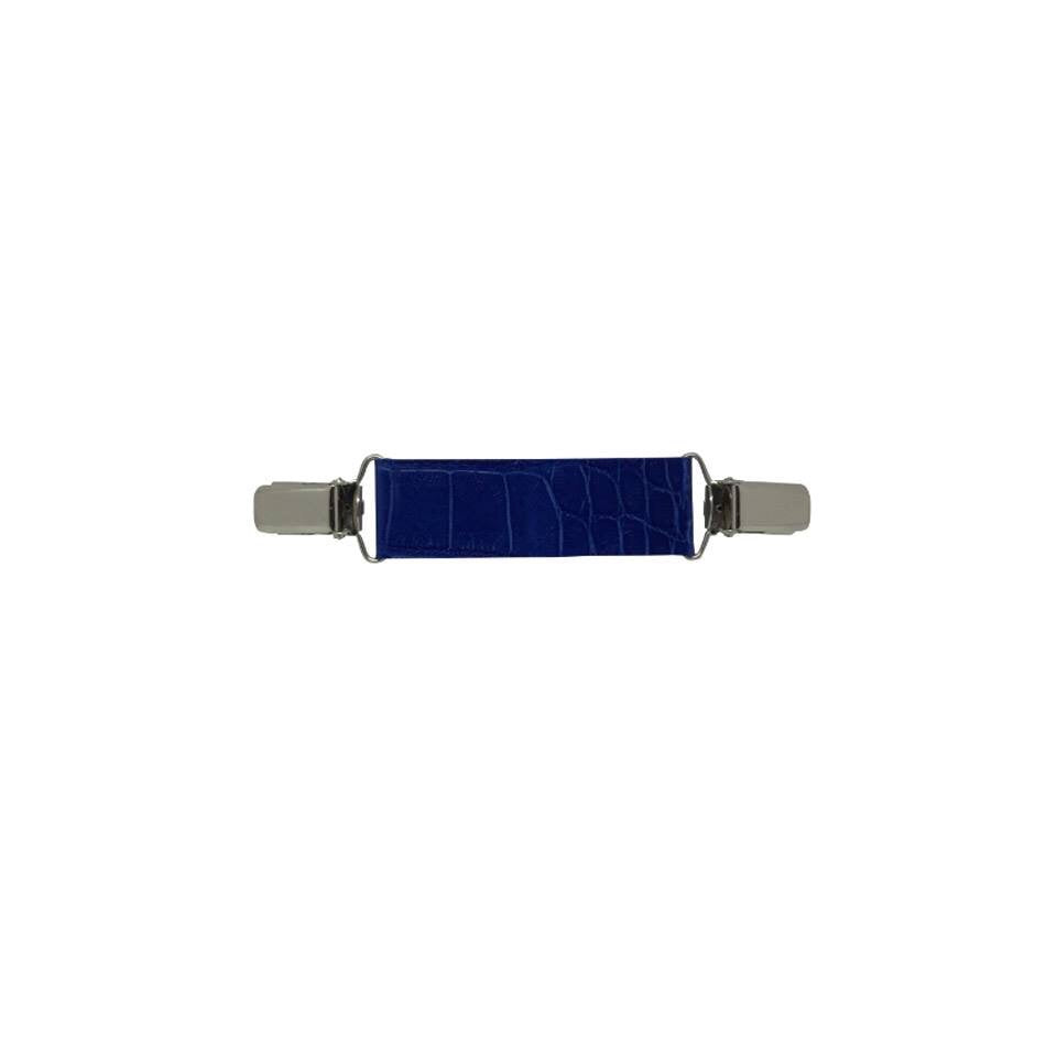 Mini-Belt ( middle ) Blue  Kroko