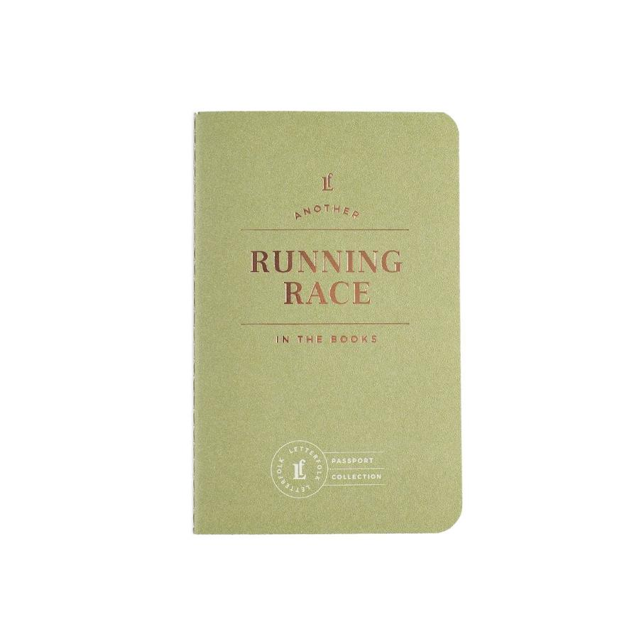 Letterfolk - Running Race Outdoor Passport