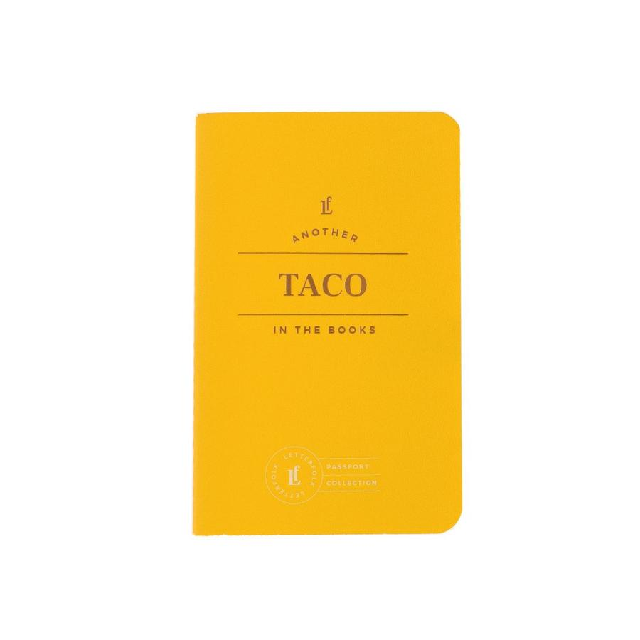 Letterfolk - Taco Passport Journal